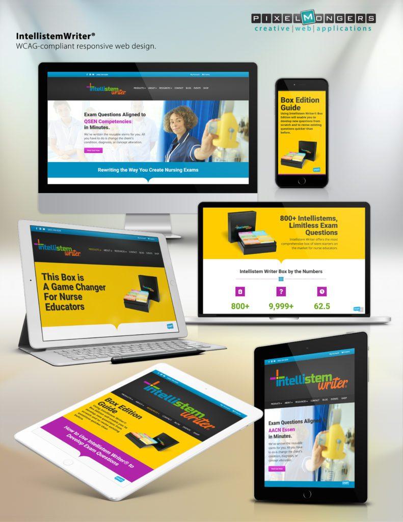 Intellistem Writer - Full Branding - Website, packaging, creative, graphic design, logo, software application